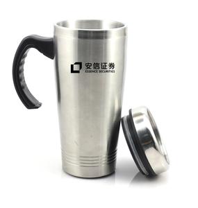 Custom Logo Stainless Steel Coffee Travel Cup