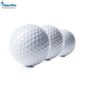 Wholesale Promotional Customized Logo Three Piece Competition Golf Ball
