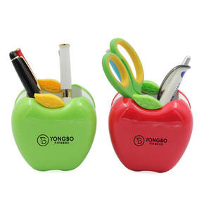 Novelty Advertising Apple Shape Pen Holder