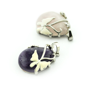 Crystal Stone Products Butterfly Decoration Pendants